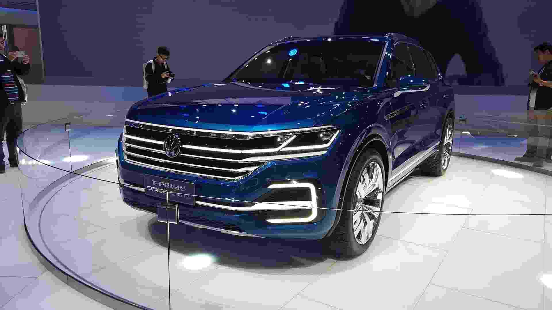 Volkswagen T-Prime Concept - Leonardo Felix/UOL