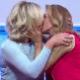 Maitê Proença e Astrid Fontenelle trocam beijo no SporTV - Reprodução/SporTV4