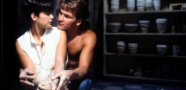 """Cena do filme """"Ghost: Do Outro Lado da Vida"""" (1990), um dos hits das tardes da Globo"""