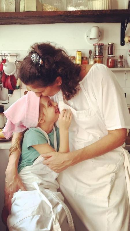 Paola Carosella e a filha - Reprodução/Instagram