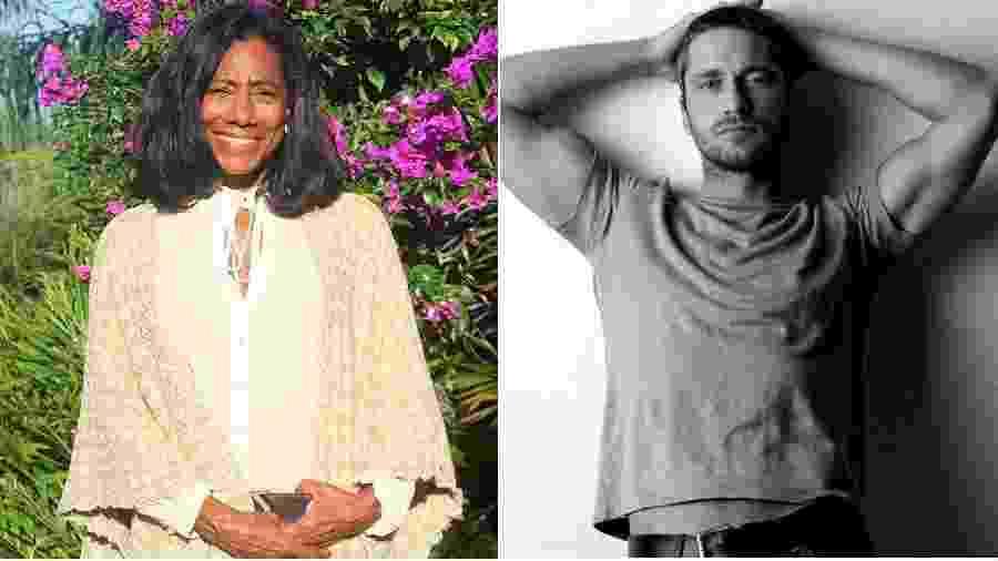 Glória Maria e Gerard Butler: rápido relacionamento em 2007 - Reprodução/Instagram