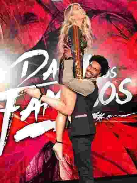Adriane diz que tem sofrido nos ensaios com o coreógrafo Marcus Lobo  - Reprodução/Instagram - Reprodução/Instagram
