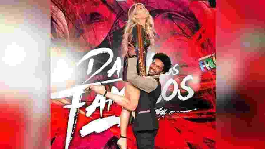 """Adriane Galisteu é quem tem um dos cachês mais altos da """"Dança dos Famosos"""" 2017 do Faustão. O coreografo Marcus Lobo não ganha nem a metade do salário da apresentadora - Reprodução/Instagram"""