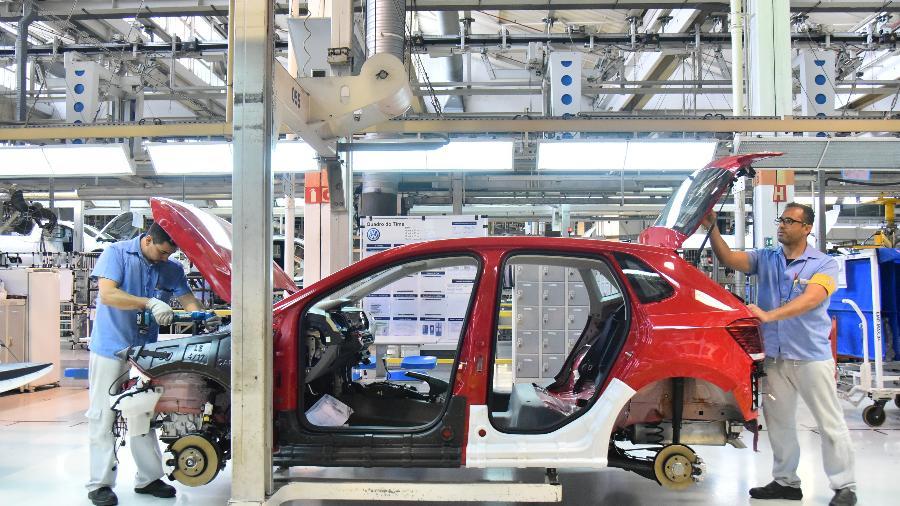 Fábrica da VW no ABC: foco em carro flex mais eficientes nos próximos anos  - Divulgação