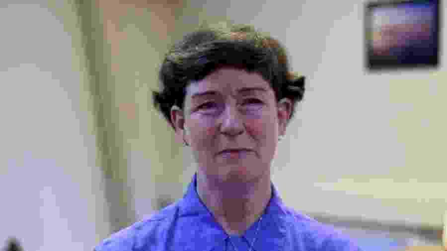 Theresa Tolmie-McGrane disse à BBC que sofreu abusos físicos, sexuais e psicológicos - BBC