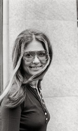 A jornalista e ícone feminista Gloria Steinem
