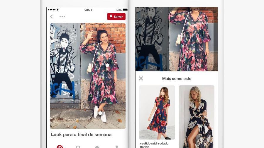 O Pinterest se tornou também uma plataforma de compras - Divulgação
