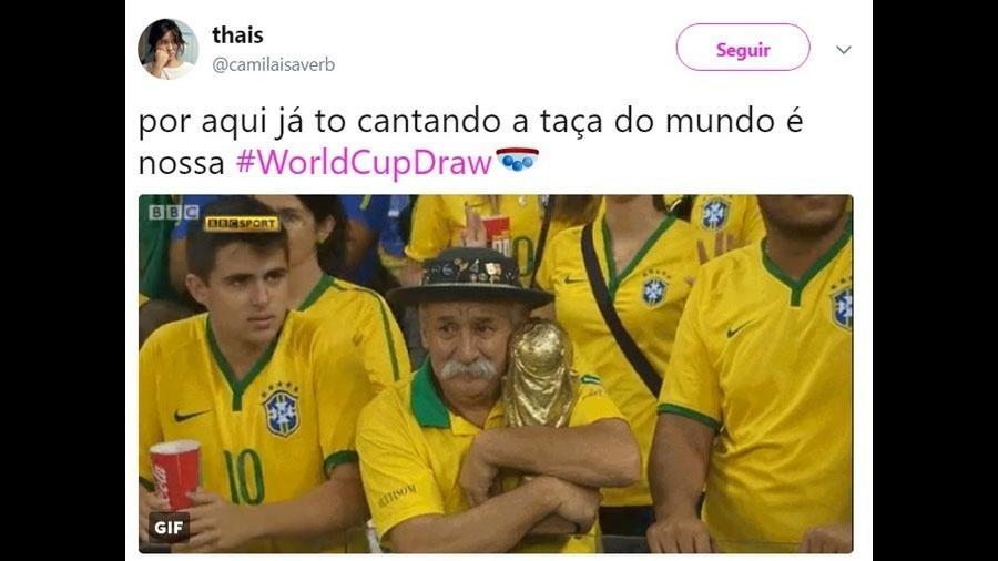 Sorteio De Grupos Para A Copa 2018 Traz Esperança E Memórias