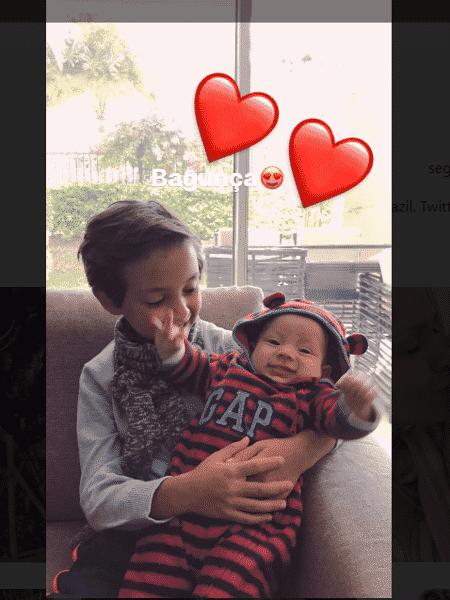 Arthur e Manuela, filhos de Eliana - Reprodução/Instagram