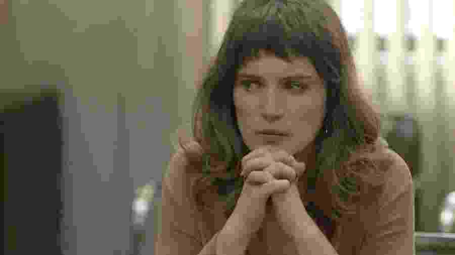 Clara se emociona com depoimento de Gael durante audiência  - Reprodução/Globo