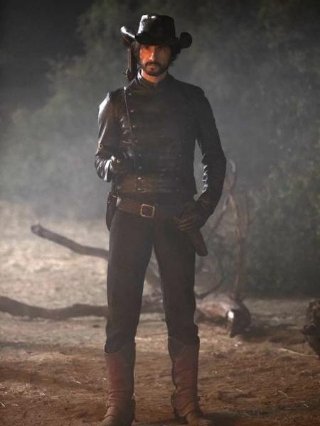 Rodrigo Santoro como Hector Escaton em cena da segunda temporada de Westworld - John P. Johnson/HBO