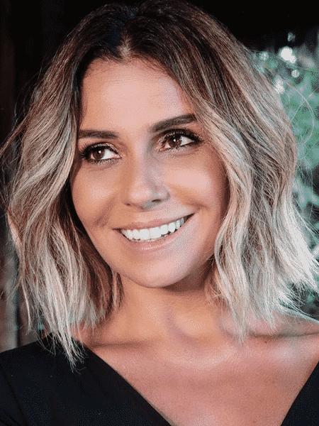 Giovanna Antonelli está loira e de fios mais curtos - Reprodução/Instagram