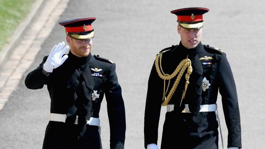 Harry queria vestir o traje militar que usou no dia de seu casamento, mas não pode porque não tem mais seus títulos - Getty Images