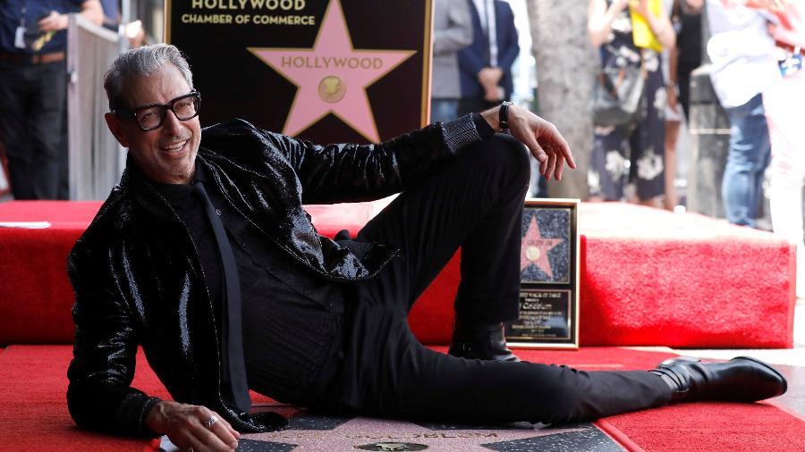 Jeff Goldblum ganha estrela na Calçada da Fama em Hollywood - REUTERS/Mario Anzuoni