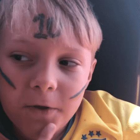 Davi Lucca, filho de Neymar - Reprodução/Instagram/nadine.goncalves