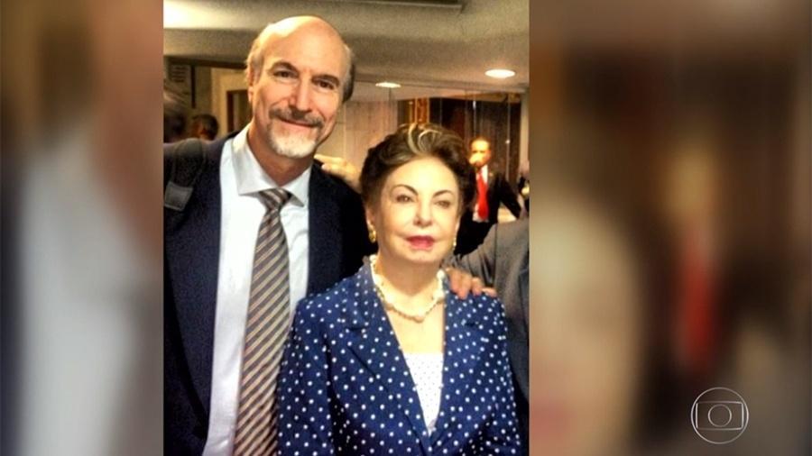 Odilon Wagner e Beatriz Segall - Reprodução/Globo