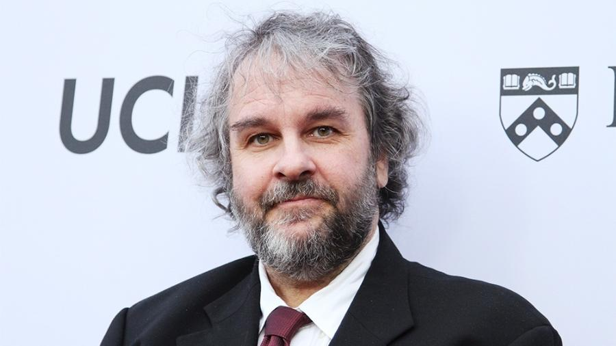 """O cineasta Peter Jackson, da trilogia """"O Senhor dos Anéis"""" - att Baron/BEI/Shutterstock"""
