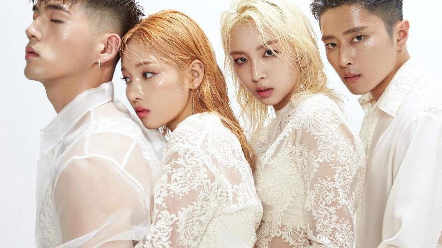 O quarteto k-pop Kard - Divulgação