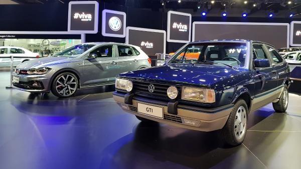 d5e135e767b Salão do Automóvel  Volkswagen traz Gol GTi de volta à casa 30 anos ...