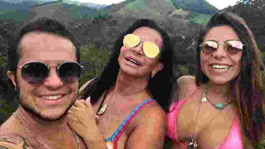 Gretchen, Thammy e Andressa Ferreira - Reprodução/Instagram