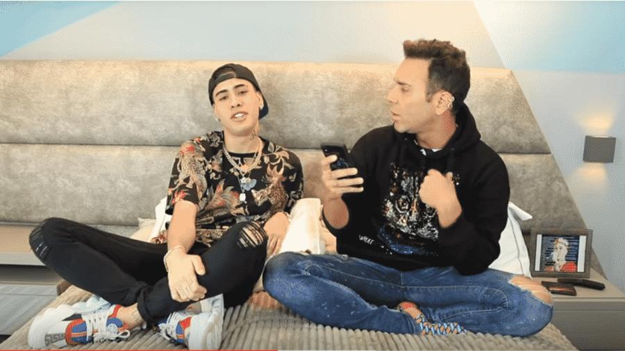 Kevinho conversa com Matheus Mazzafera - Reprodução/Instagram