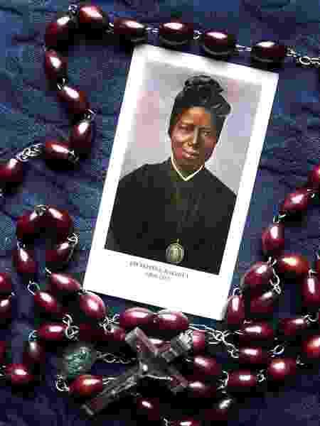 Santa Josefina Bakhita, do Sudão, é uma das poucas santas negras católicas - Getty Images