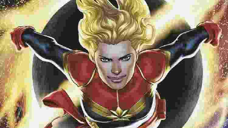 Em 2012, personagem finalmente virou a Capitã Marvel - Reprodução/Twitter - Reprodução/Twitter