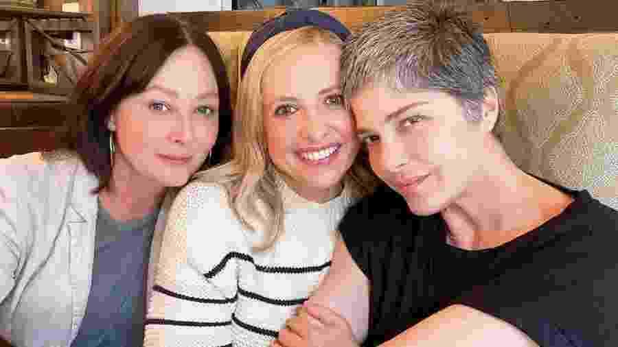 Selma Blair, Sarah Michelle Gellar e Shannen Doherty - Reprodução/Instagram