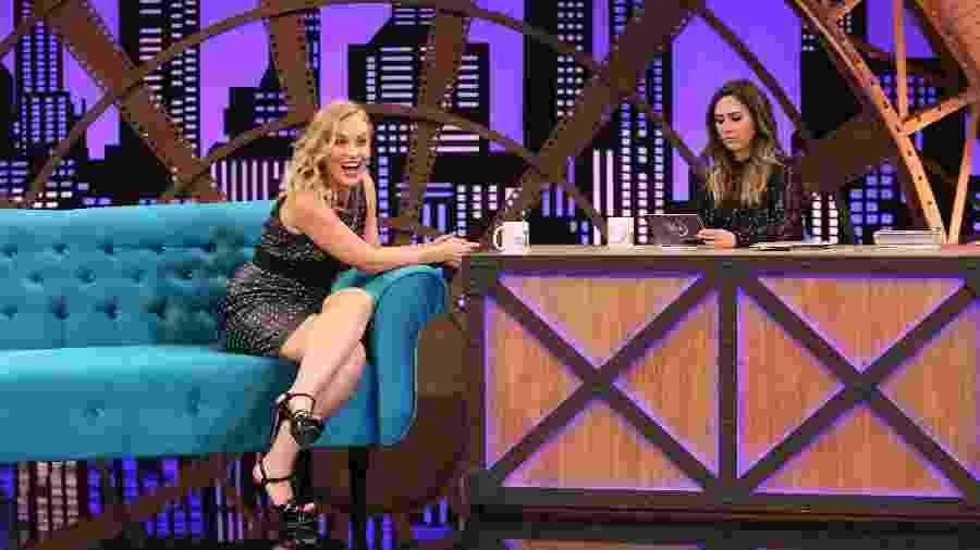 Angélica é entrevistada por Tatá Werneck no programa Lady Night - Divulgação/TV Globo