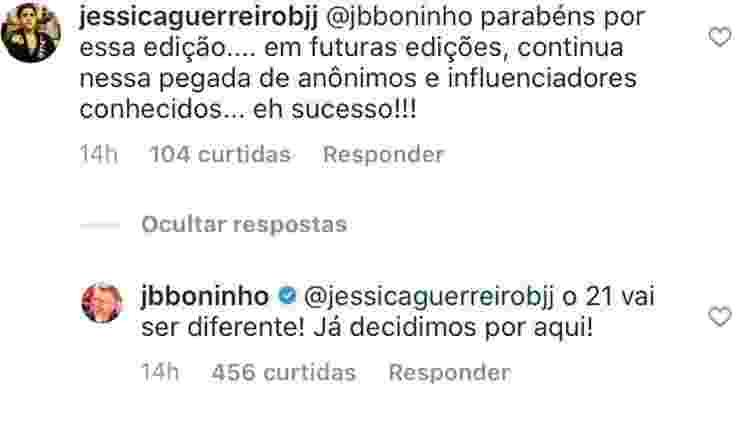 Boninho avisa que produção já pensou no formato do BBB 21  - Reprodução/Instagram - Reprodução/Instagram