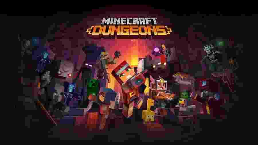 Minecraft Dungeons - Divulgação