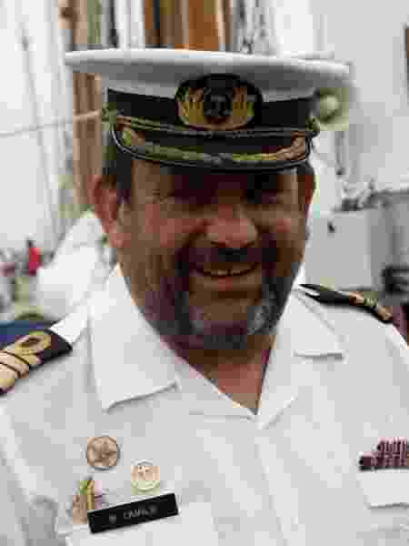 O comandante do NRP Sagres, Antônio Maurício Camilo - Divulgação - Divulgação