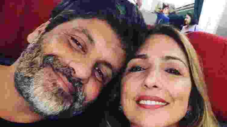 Pedro Vasconcelos e a mulher, Flávia Garrafa, estão juntos em série do GNT - Reprodução - Reprodução