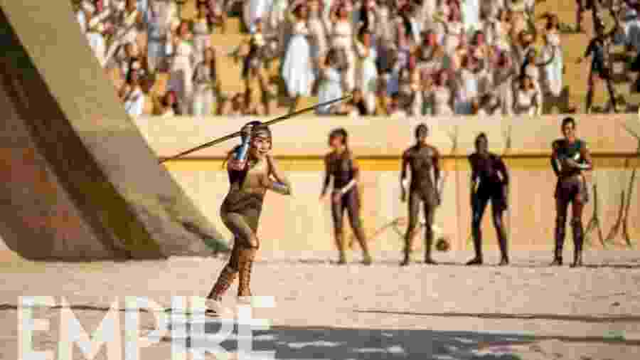 """Mulher-Maravilha em cena """"olímpica"""" em seu próximo filme - Reprodução/Empire"""
