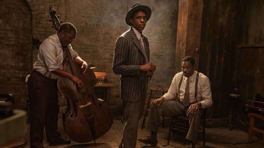 """Chadwick Boseman em """"A voz suprema do blues"""" - Divulgação"""