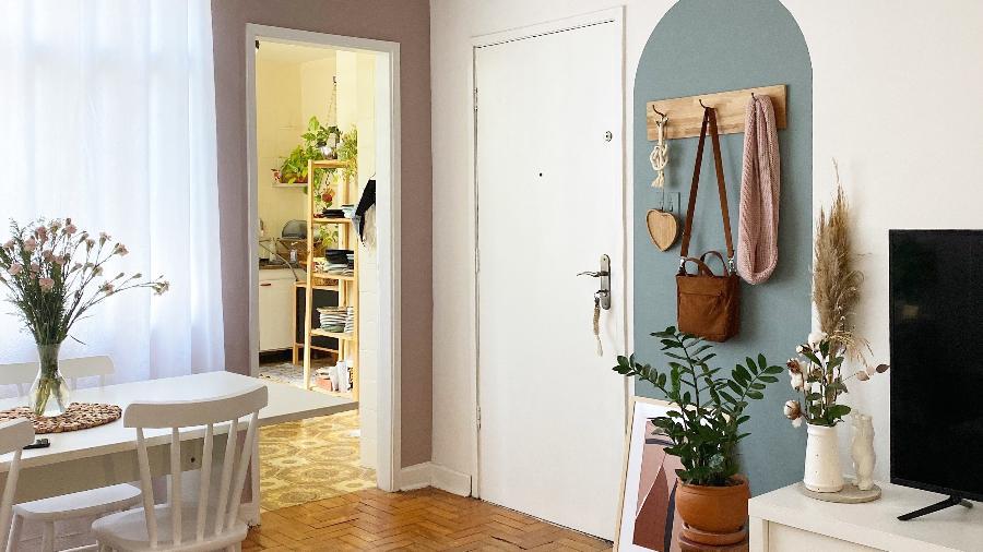 """Em seu apartamento alugado, Roberta Artiolli completou o """"bingo da quarentena"""" em decoração personalizada - Arquivo Pessoal"""