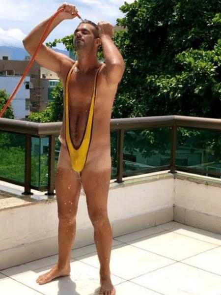 """Bruno Miranda, o """"Borat"""", mandou recado para Fernanda Lima se dizendo pronto para voltar ao """"Amor & Sexo"""" - Reprodução/Instagram/@brunomiranda.borat"""