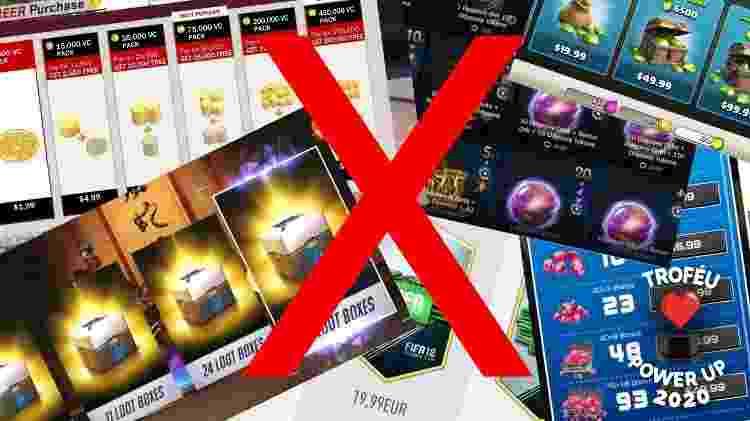 Microtransações nos games sendo combatidas em 2020 - Reprodução - Reprodução