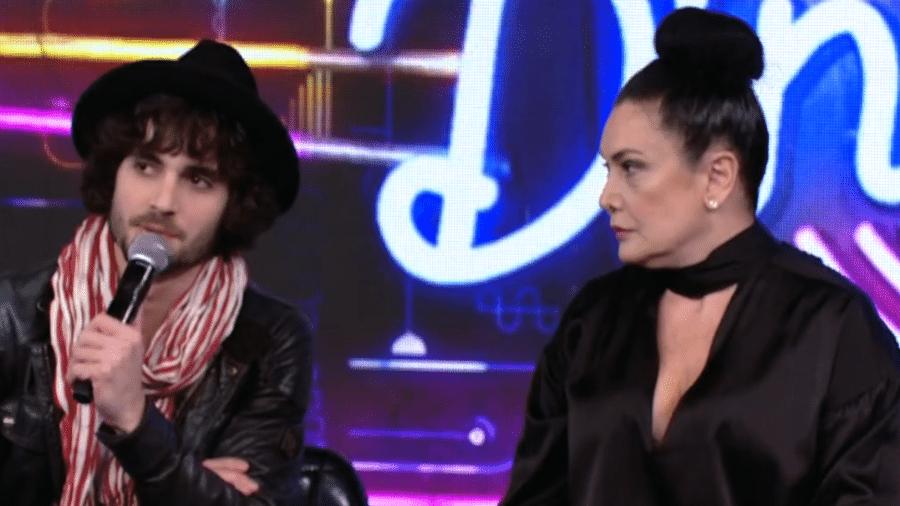 Fiuk e a mãe, Cristina Kartalian - Reprodução / TV Globo