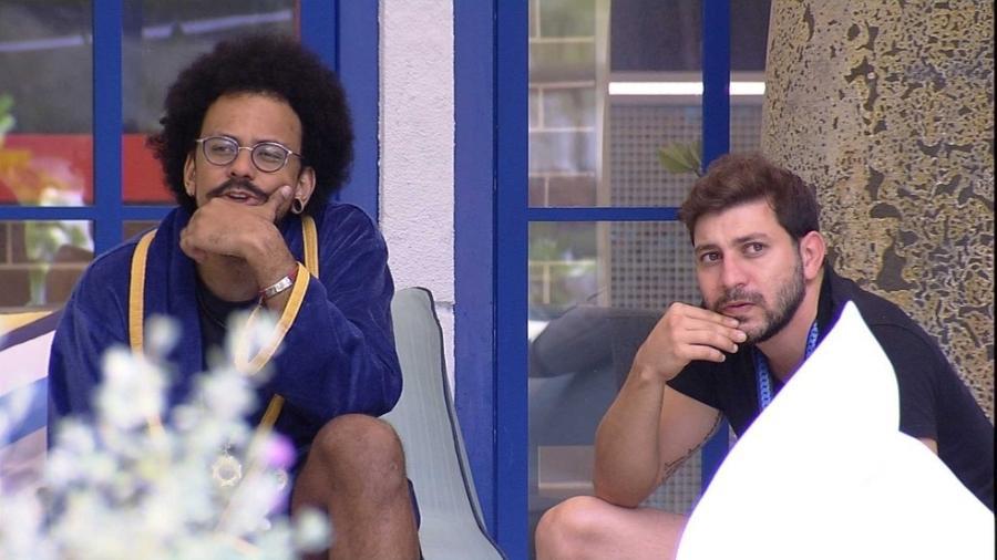 BBB 21: João Luiz e Caio conversam sobre Projota - Reprodução / Globoplay