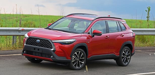 Mercado automotivo | Toyota Corolla Cross passa longe do líder Compass em 1º mês de vendas