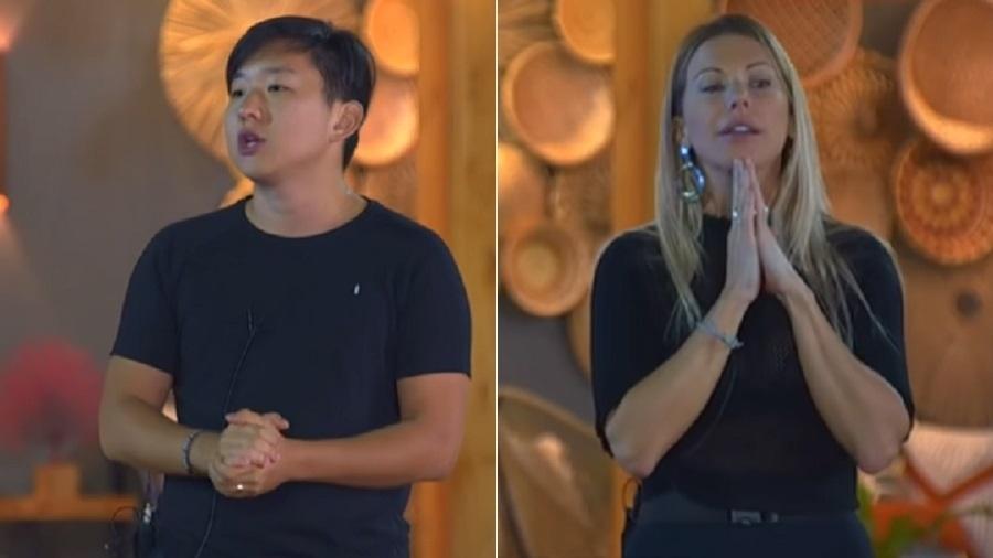 Ilha Record: Pyong Lee e Antonela se escolhem para a final dos sonhos do reality - Reprodução/RecordTV