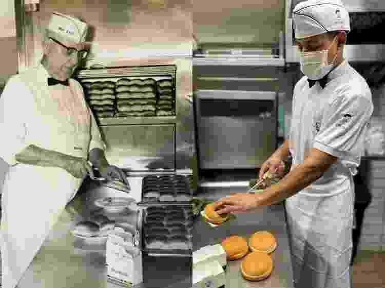 White Castle e Patties: uniformes parecidos - Arquivo pessoal - Arquivo pessoal