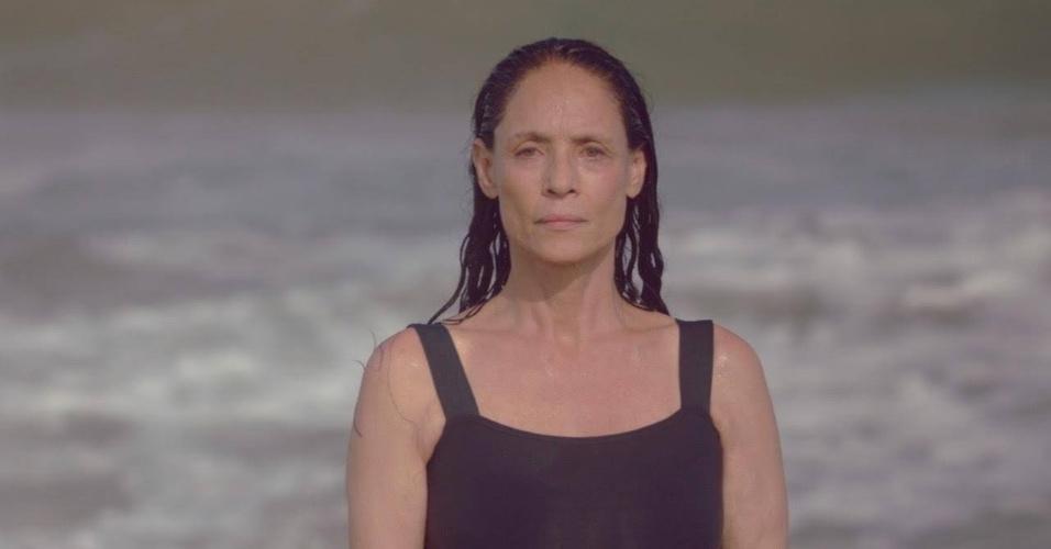 """Cena de """"Aquarius"""", de Kleber Mendonça Filho, estrelado por Sonia Braga"""