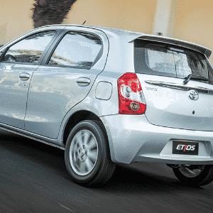Toyota Etios 2017 - Divulgação