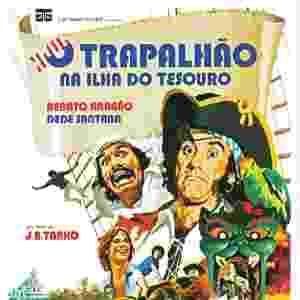 """Apenas com Renato Aragão e  Dedé Santana, """"O Trapalhão na Ilha do Tesouro"""" chegou aos cinemas em 1975 - Divulgação"""
