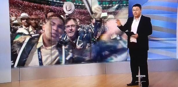TV Cultura transmite a cerimônia de abertura da Paralimpíada do Rio de Janeiro - Reprodução/TV Cultura