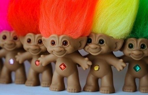 Trolls - brinquedo famoso de origem dinamarquesa