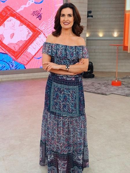 Fátima anunciou separação de Bonner após 26 anos de casamento - Divulgação/Globo