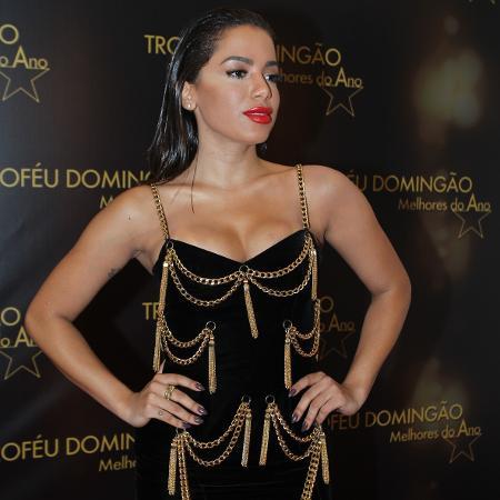 Anitta em premiação do Faustão - AgNews